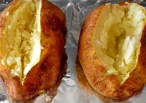 Cartofi umpluti cu carne si verdeata