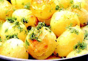 Cartofi fierti cu pesmet