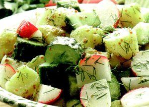 Salata ardeleneasca de castraveti