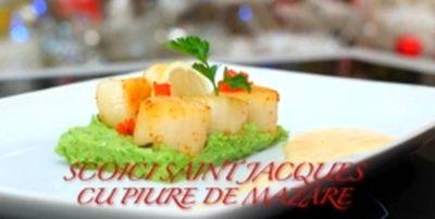 Cum_se_prepara_Scoici_Saint_Jacques_cu_piure_de_mazare