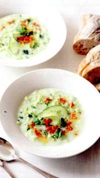 Supa de legume cu castraveti