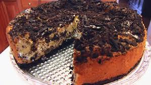 Cheesecake de portocale si ciocolata