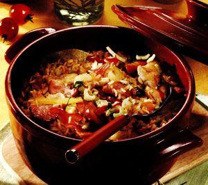 Mancare de legume la cuptor cu cascaval