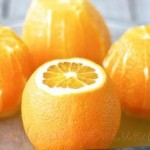 Bavareza de portocale