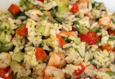 Retete de post: salata de orez
