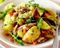 Salata de cartofi cu ansoa