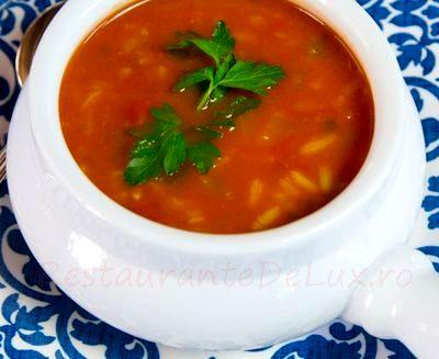 Supa de rosii cu varza
