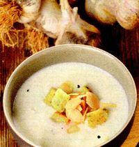 Supa de usturoi ceheasca