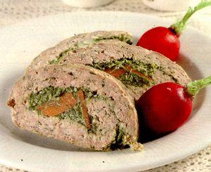 Rulade de carne umplute