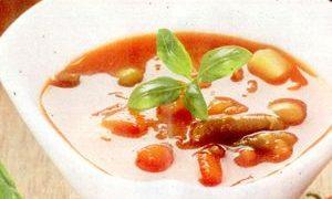 Supa de fasole cu menta