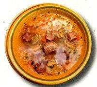Ciorba greceasca cu carne de porc