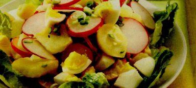Salata de ridichi cu cartofi