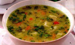 Supa picanta de pui