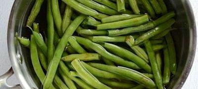 Fasole verde cu sare