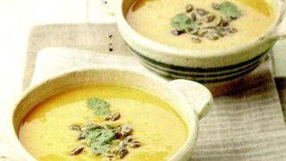 Supa de dovleac si portocale