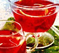 Bautura calda cu vin rosu