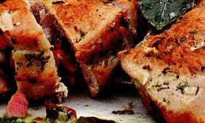 Cotlet de porc cu legume asortate