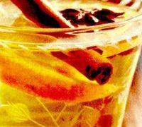 Cruson din vin alb cu portocale