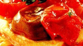 Rosii cu usturoi si marar la cuptor