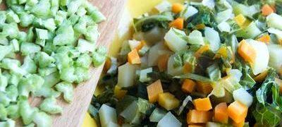 Retete de post: legume cu capere