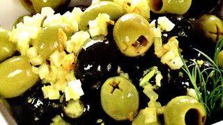 Salata de masline cu ceapa