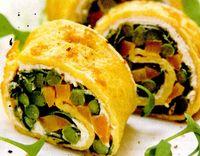 Clatite cu morcov si fasole verde