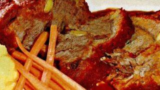 Friptura cu usturoi si sos de rosii