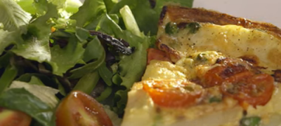 How_to_make_Cherry_tomato_and_pea_frittata_(VIDEO)