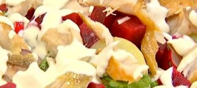 How_to_make_Spring_salad_with_smoked_mackerel