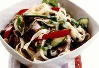 Salata asiatica cu carne de vita