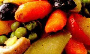Salata_cu_mazare_si_pui