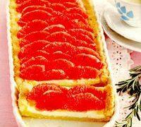Tarta cu grepfrut