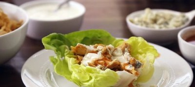 How to Make Buffalo Chicken Wraps