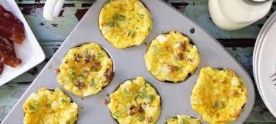 How to Make Scrambled Egg Muffins