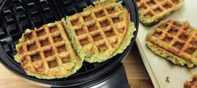 How to Make Waffled Falafel