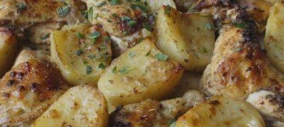 How_to_make_Lemon_Garlic_Chicken_and_Potatoes