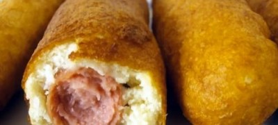 How to make corn dogs - easy and tasty