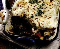 Lasagna cu spanac si dovleac