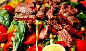 Salata picanta cu carne de vita