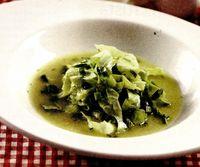 Supa de salata verde, fara foc
