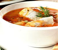 Supa cremoasa de peste