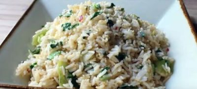 How to Make Bok Choy Rice