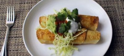 How to Make Crispy Turkey Flautas