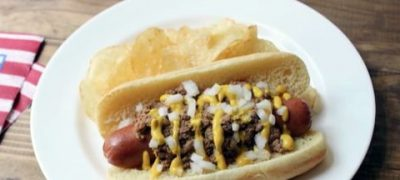 How to Make Hot Dog with Spicy Meat Sauce