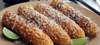 "How to Make Mexican Grilled Corn ""Elote"""