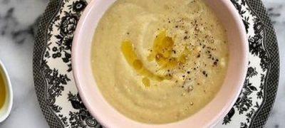 Supa-crema de conopida cu ou