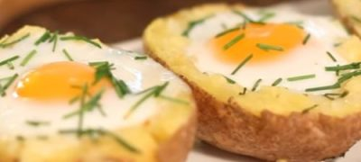How_to_make_Baked_Potato_with_Egg