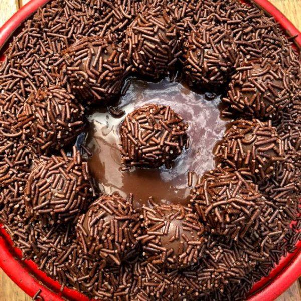 17 - torta de brigadeiro