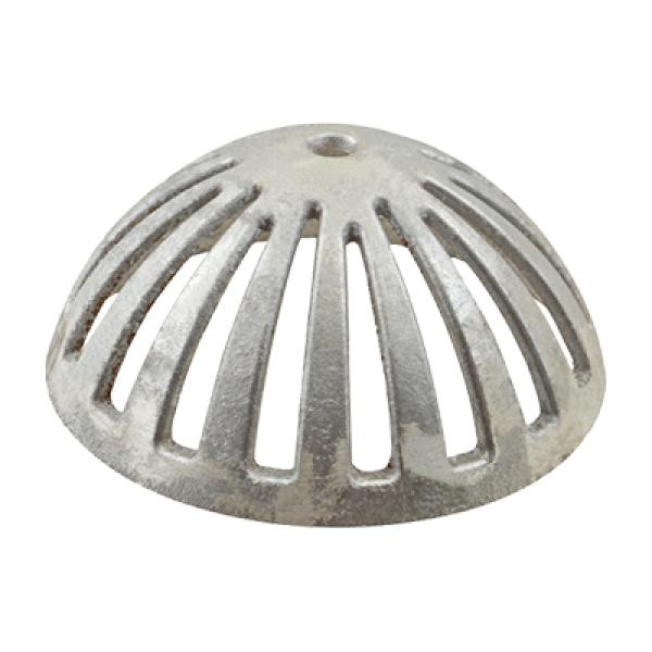 Dome Strainer Used In Floor Drains 5 12 OD 2 14 H