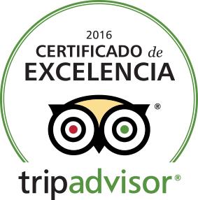 certificado excelencia tripadvisor Ca L'Estevet